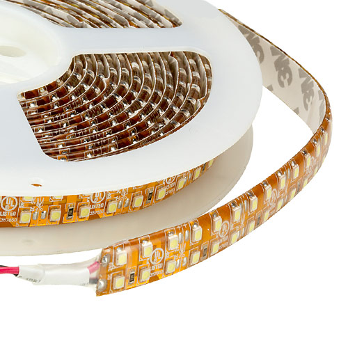 Dual Row Super Bright Series DC12/24V 3528SMD 1200LEDs Flexible LED Strip Lights, Waterproof IP65, 16.4ft Per Reel By Sale